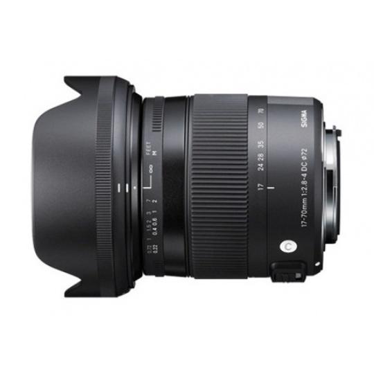 Sigma 17-70 mm F 2,8-4 DC Macro OS HSM pro Canon EF (řada Contemporary), Bonus 700 Kč ihned odečteme
