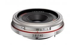 Pentax HD DA 40 mm F 2,8 Limited stříbrný