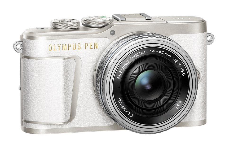 Olympus PEN E-PL9 + 14-42 mm EZ bílý
