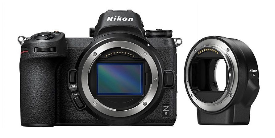 Nikon Z6 + FTZ adapter kit