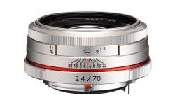 Pentax HD DA 70 mm F 2,4 AL Limited stříbrný
