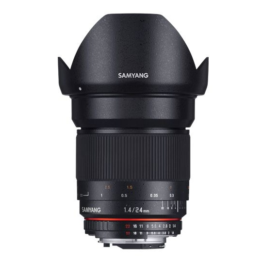 Samyang 24mm F/1.4 ED AS IF UMC pro Canon EF