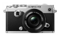 Olympus PEN-F + 14-42 EZ silver (1442 EZ Kit) + Karta SDHC 32GB