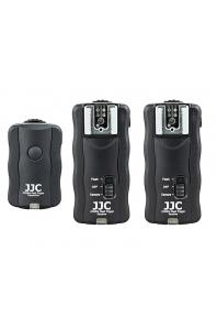 JJC 3v1 Kit JF-U2 univerzální (Pentax, Nikon...) dálkový odpalovač blesku a dálková spoušť