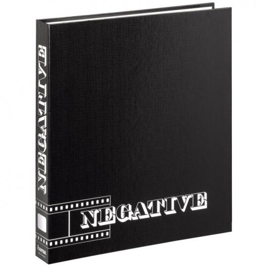 Hama kroužkový pořadač pro negativy, černý 29x32,5 cm