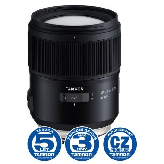 Tamron SP 35mm F/1.4 Di USD pro Canon EF (F045E), Nákupní bonus 1500 Kč (ihned odečteme z nákupu)
