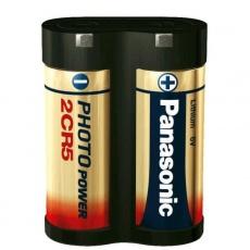 Panasonic 2CR5 Lithiová baterie (další značení: DL 245EL, EL 2CR5, KL2CR5, 2CR5R)