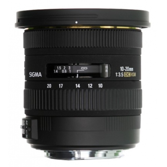 Sigma 10-20 mm F 3,5 EX DC HSM pro Canon EF