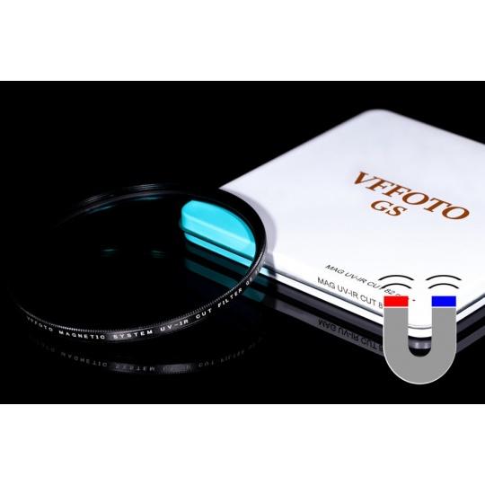 VFFOTO magnetický UV IR-Cut filtr GS 62 mm