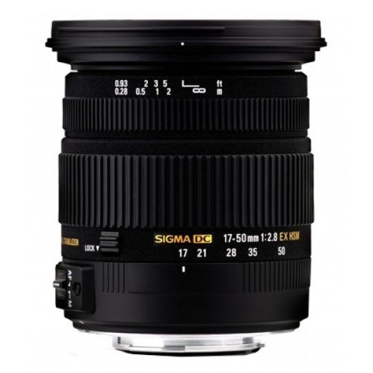 Sigma 17-50 mm F 2,8 EX DC HSM pro Pentax, Bonus 700 Kč ihned odečteme