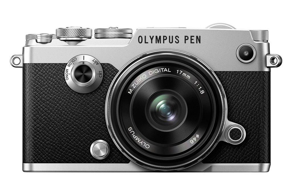 Olympus PEN-F + 17 mm 1,8 silver (1718 Kit) + Karta SDHC 32GB