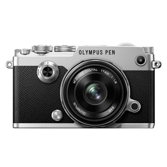 Olympus PEN-F + 17 mm 1,8 silver (1718 Kit) + Karta SDHC 32GB