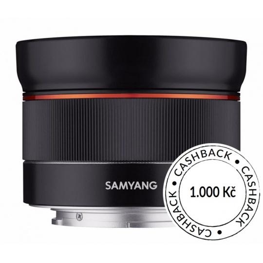 Samyang AF 24mm F/2.8 pro Sony FE, CashBack 1000 Kč