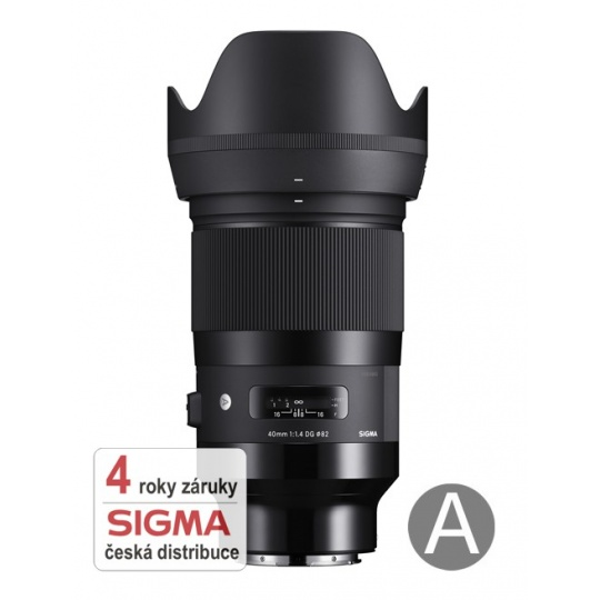 Sigma 40mm f/1.4 DG HSM ART L-mount Sigma / Panasonic / Leica