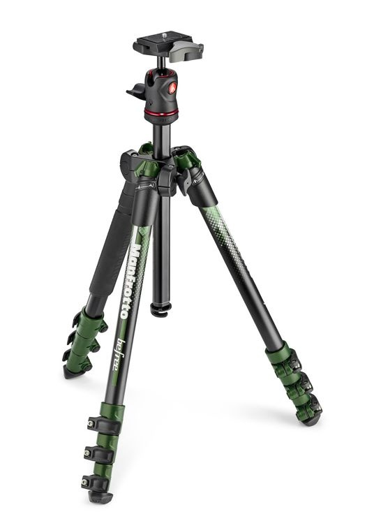 Manfrotto BeFree MKBFRA4GR-BH Green