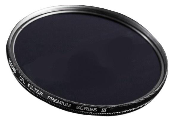 VFFOTO Cirkulární polarizační filtr PS III 86 mm + utěrka z mikrovlákna