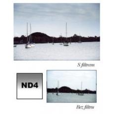 Cokin P121M GRADUAL šedý G2- soft ND4 (měkký)