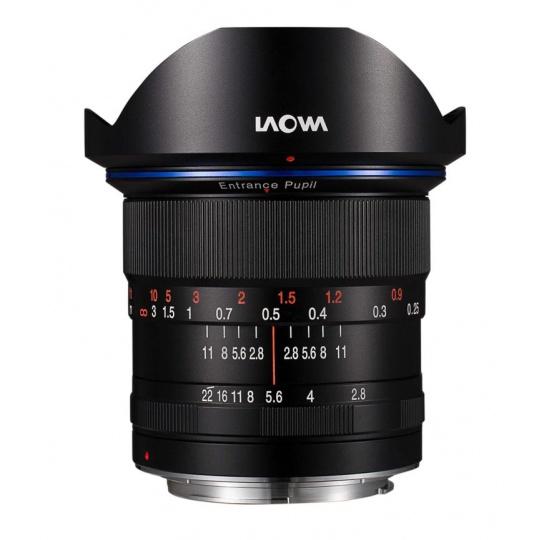 Laowa 12mm f/2.8 Zero-D pro Nikon F