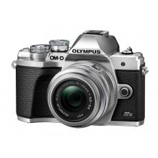Olympus OM-D E-M10 III S + 14-42 R stříbrný