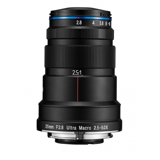 Laowa 25mm f/2.8 2.5-5X Ultra-Macro pro Pentax