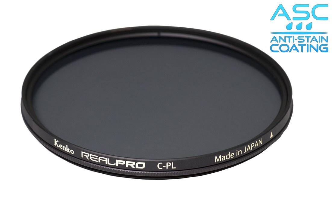 Kenko polarizační filtr REALPRO C-PL ASC 55mm