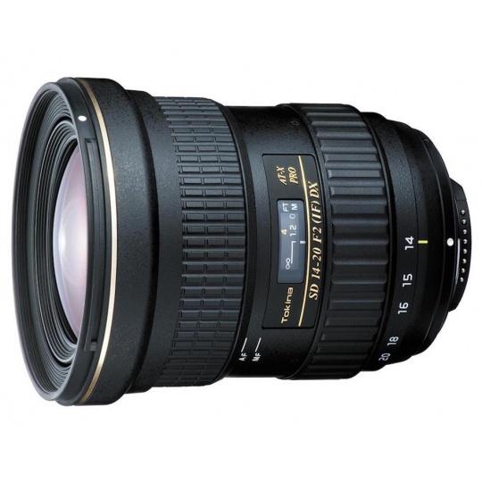 Tokina AT-X 14-20 mm f/2 PRO DX pro Canon EF
