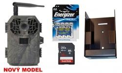 Fotopast BUNATY WIDE FULL HD GSM + 16GB karta + lithiové baterie + kovový box