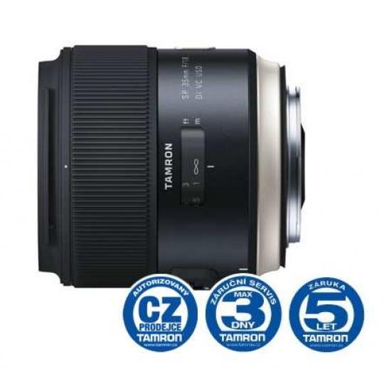 Tamron SP 45mm F/1.8 Di VC USD pro Nikon F, Nákupní bonus 1300 Kč (ihned odečteme z nákupu)