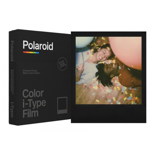 Polaroid Originals i-Type Color film Black frame