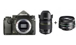 Pentax KP + DA 18-270 mm ED SDM černý + Objektiv Pentax DA 50/1,8