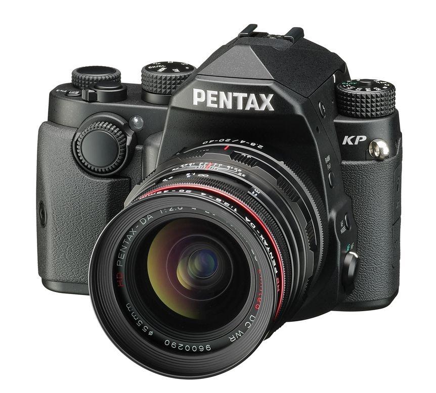 Pentax KP + DA 20-40 F 2.8-4 ED WR černý