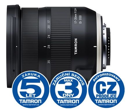 Tamron 17-35mm F/2.8-4 Di OSD pro Nikon (model A037N)