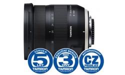 Tamron 17-35mm F/2.8-4 Di OSD pro Nikon (model A037N) + UV filtr Zdarma