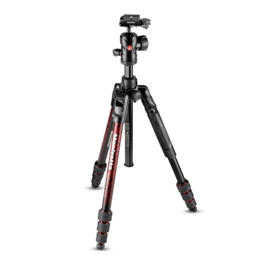 Manfrotto BeFree MKBFRTA4RD-BH ADV Travel Twist Red