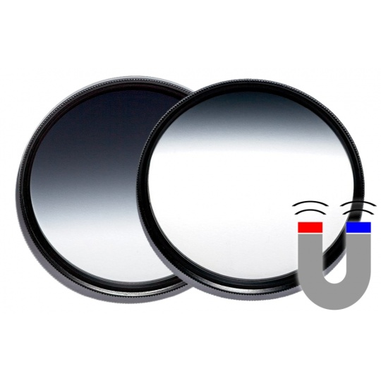 VFFOTO ND 0,9 2/3 a 1/3 GS 77 mm sada dvou magnetických přechodových filtrů