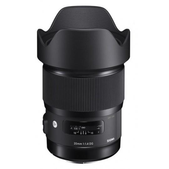 Sigma 20/1.4 DG HSM ART Canon EF, Nákupní bonus 1300 Kč (ihned odečteme z nákupu)