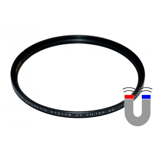 VFFOTO magnetický filtr UV GS 82 mm