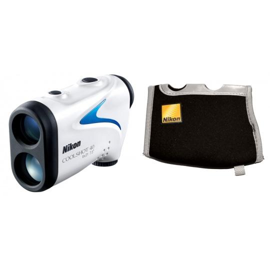 Nikon Laser Coolshot 40 + Neoprénové pouzdro, Nákupní bonus 500 Kč (ihned odečteme z nákupu)
