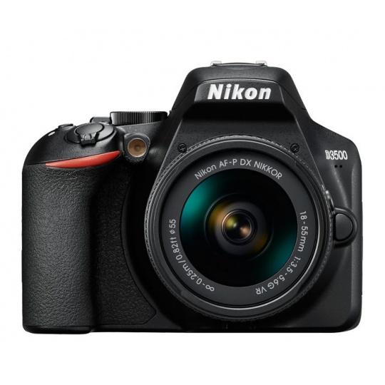 Nikon D3500 + 18-55 AF-P VR černý