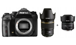 Pentax K-1 Mark II + HD D-FA 50 mm F 1,4 SDM AW + karta 32GB