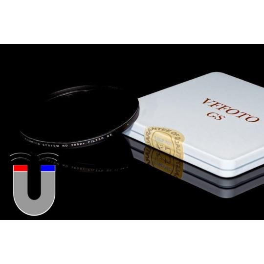 VFFOTO magnetický ND 2000x filtr GS 72 mm