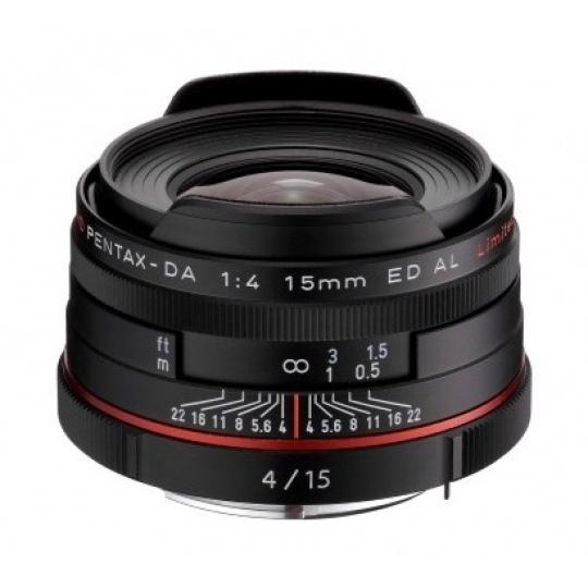 Pentax HD DA 15 mm F 4 ED AL Limited černý