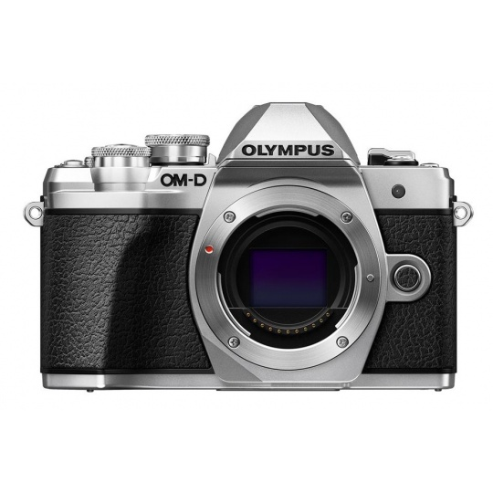Olympus OM-D E-M10 mark III tělo stříbrné + karta SDHC 32GB