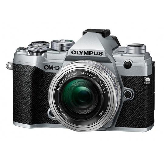 Olympus OM-D E-M5 III + 14-42 EZ silver