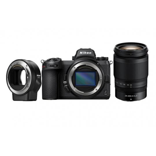 Nikon Z6 II + 24-200 f/4-6.3 VR + FTZ adapter