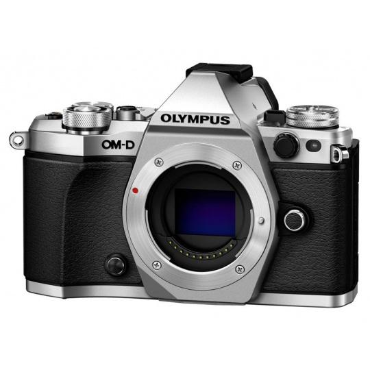 Olympus OM-D E-M5 II body silver, Nákupní bonus 1000 Kč (ihned odečteme z nákupu)