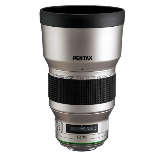 Pentax HD FA* 85 mm F 1,4 ED SDM AW Silver Edition