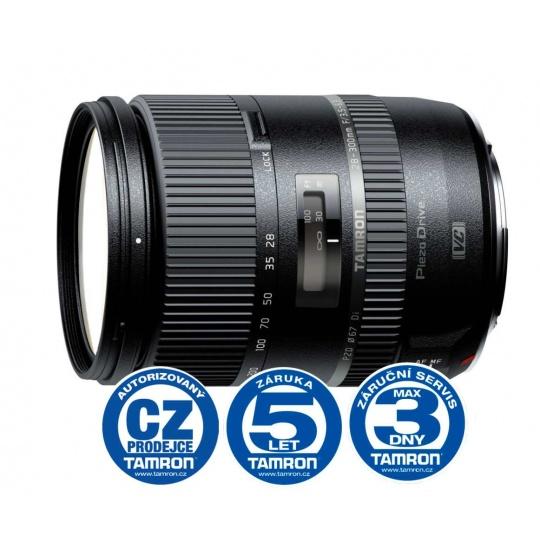 Tamron 28-300mm F/3.5-6.3 Di PZD pro Canon EF, Bonus 1.000 Kč ihned odečteme