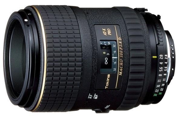 Tokina 100 F 2,8 Macro AT-X AF PRO D pro Nikon
