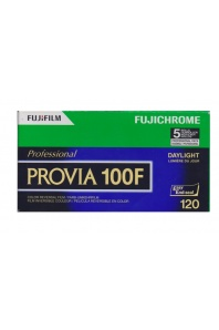 Fujifilm Provia 100F/120 barevný inverzní svitkový film (1 ks)